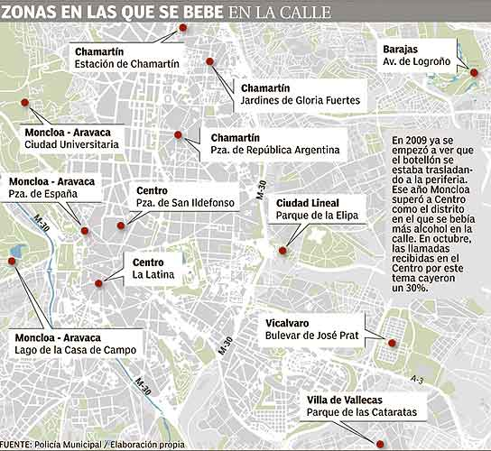 Madrid multa a los padres