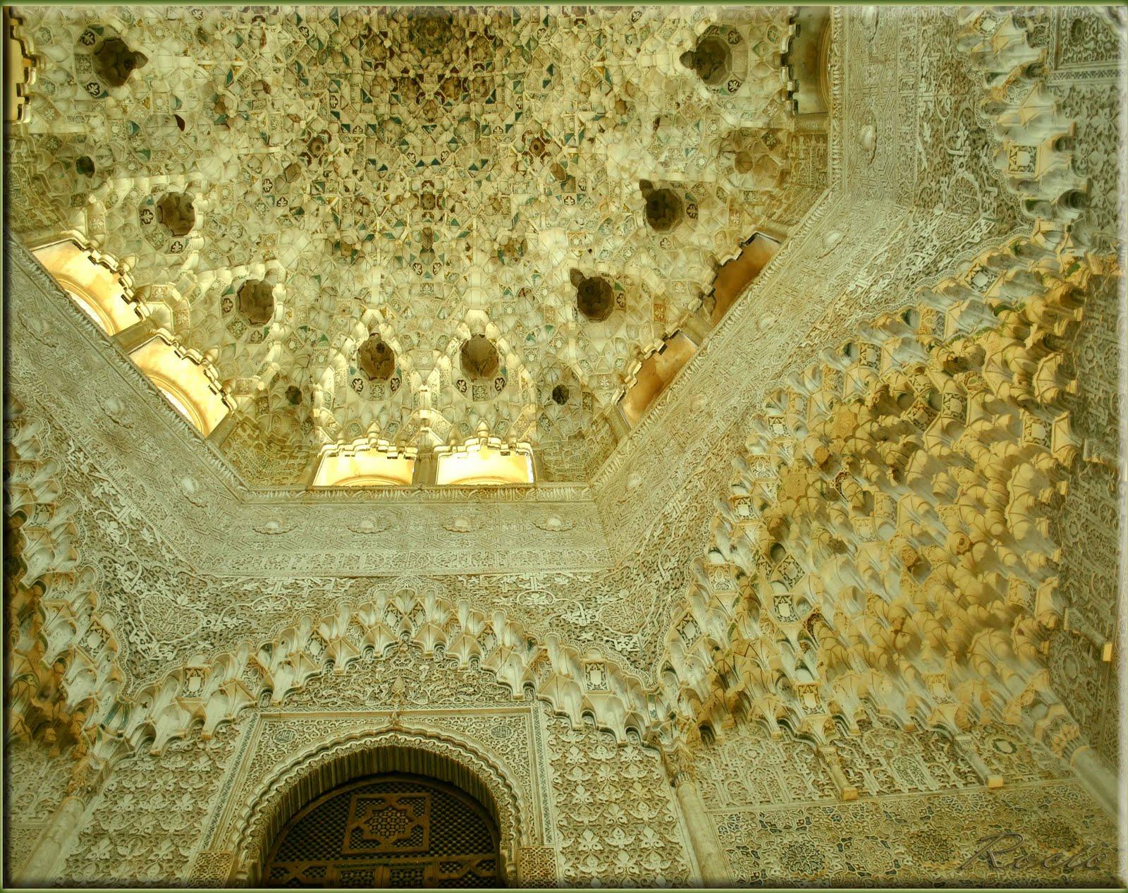 Muqarnas, Sala de las dos Hermanas, Alhambra
